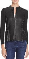 Rebecca Taylor Knit and Leather Jacket