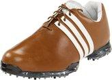 adidas Men's Adipure Golf Shoes 8 2E US Hickory/Tour White/Scout Metallic