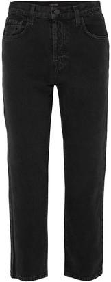 J Brand Wynne Cropped High-rise Straight-leg Jeans