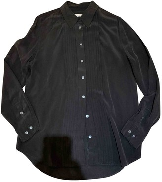 Equipment Anthracite Silk Top for Women