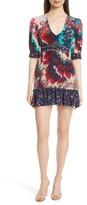 Saloni Women's Vera-B Silk Minidress