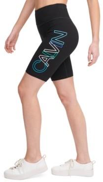 Calvin Klein Outline-Logo Bike Shorts