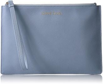 Armani Jeans Saffiano Crossbody Clutch