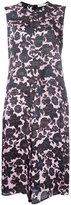 Christian Wijnants floral-print satin dress - women - Cupro/Viscose - 38