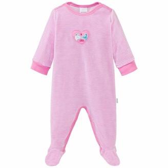 Schiesser Baby Girls Anzug Mit Fu Toddler Sleepers