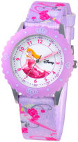 Disney Time Teacher Aurora Purple Strap Watch