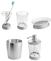 InterDesign Gina Stainless Steel Bath Accessory Set (5 PC)