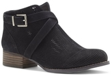 Vince Camuto Casha – Perforated Crisscross-Buckle Bootie