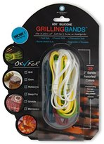 Architec Stretch Cooking Bands, Pack of 25, Assorted