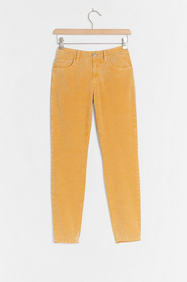 Closed Baker Low-Rise Slim Jeans By in Yellow Size 25