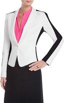 BCBGMAXAZRIA Bowie Color-Block Tuxedo Jacket