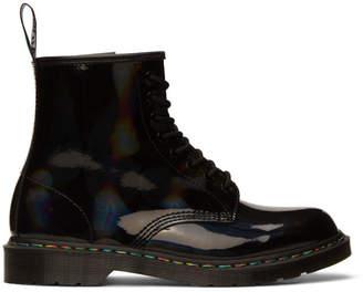 Dr. Martens Black Iridescent 1460 Boots