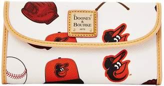 Dooney & Bourke MLB Orioles Continental Clutch
