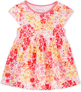 First Impressions Cotton Floral-Print Babydoll Tunic, Baby Girls (0-24 months), Only at Macy's