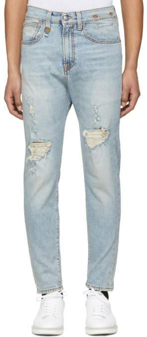 R 13 Blue Drop Jeans