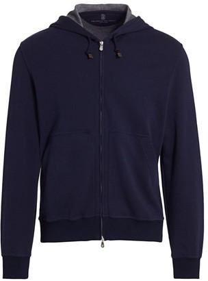 Brunello Cucinelli Leisure Hooded Sweatshirt
