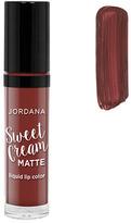 Jordana Sweet Cream Matte Liquid Lip Color - Molten Chocolate Cake