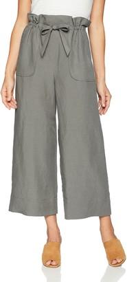 Rebecca Taylor Women's Slub Linen Pant