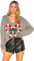 Wildfox Couture Candy Canes Pullover Sweater