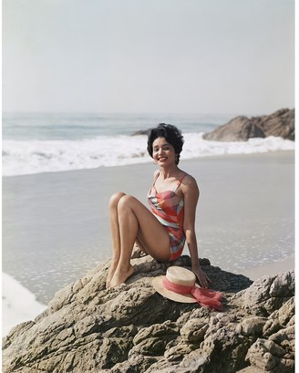 "Jonathan Adler ""Young Woman Sitting Beside the Sea"" from Getty Images"