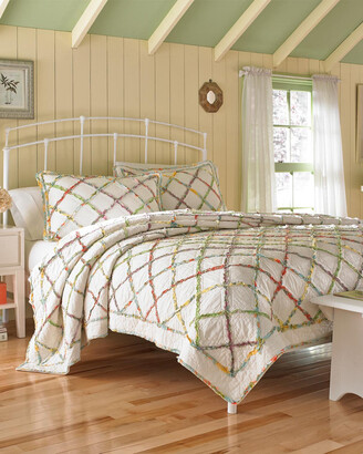 Laura Ashley Ruffle Garden Quilt Collection