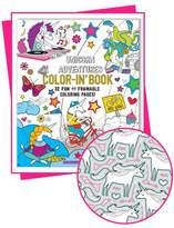 Color-in' Book: Unicorn Adventures