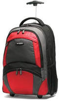 Samsonite 17878 Wheeled Backpack - Black/Orange Computer Cases