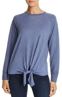 Alison Andrews Tie Front Sweatshirt