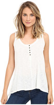 Culture Phit Janis Sleeveless Tank Top with Buttons