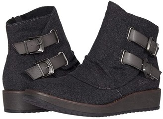 Blowfish Cocoa (Grey Two-Tone Flannel/Dyecut) Women's Boots