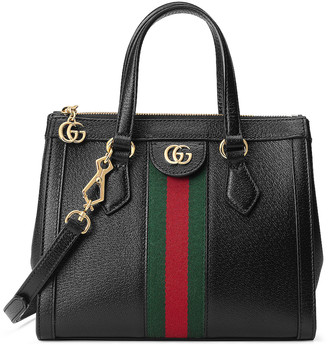 Gucci Ophidia Tote in Black | FWRD