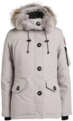 Canada Goose Fur-Trim Montebello Parka