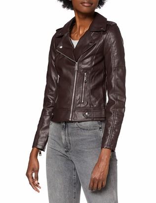 Vero Moda Women's VMKERRIULTRA Short Coated Jacket COL Faux Leather