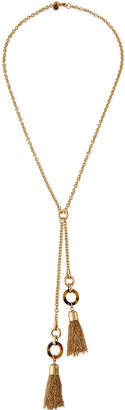Max Studio Tassel Double-Lariat Necklace