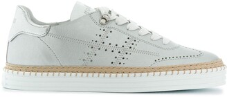 Hogan Stitch Sole Sneakers