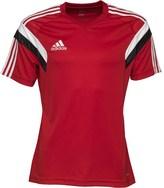 adidas Mens Condivo 14 3 Stripe ClimaCool Training Top University Red/White