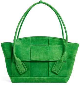 Bottega Veneta Suede Leather Arco 48 Bag
