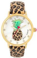 Betsey Johnson Peppy Pineapple Watch