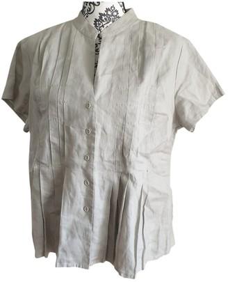 Rodier Grey Linen Top for Women