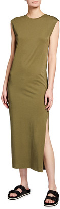 Frame Le Muscle Sleeveless Maxi Dress