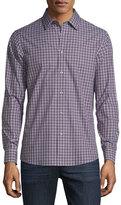 Michael Kors Gunnar Tailored-Fit Check Sport Shirt