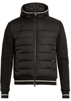Moncler Quilted-down Panel Hooded Jacket