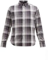 Rag & Bone Tomlin Checked Button-down Cotton Shirt - Mens - Black Multi
