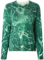 Each X Other marble print sweater