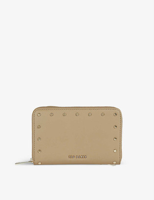 Ted Baker Studded leather midi purse