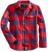 Tommy Hilfiger Plaid Shirt Jacket, Big Boys (8-20)