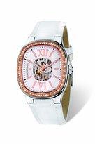 Morellato Women's SZ6019 Classy White Calfskin Band Watch.