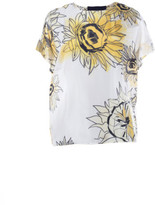 N°21 N.21 Sunflower Print Blouse