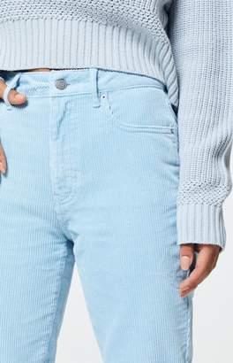 Pacsun PacSun Powder Blue Corduroy Mom Jeans