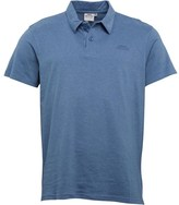 Weird Fish Mens Andre Polo Washed Blue